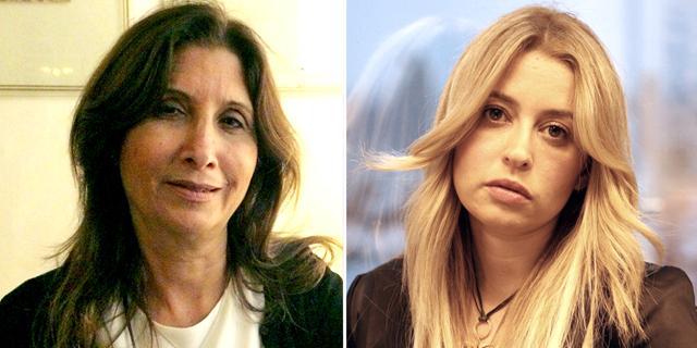 """מימין: עוה""""ד צילי נוה ואילנה סקר, צילום: עמית שעל"""