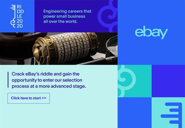 צילום מסך כתב חידה איביי eBay