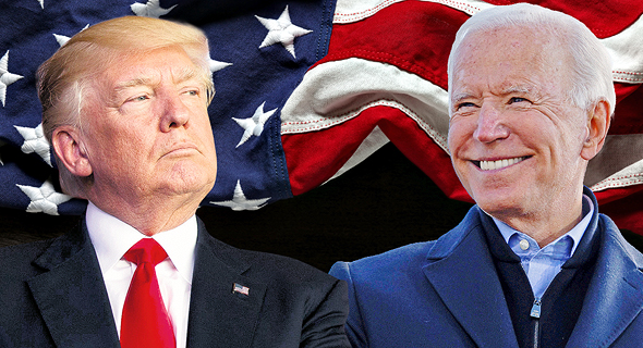 "ג'ו ביידן דונלד טראמפ 3.11.20 בחירות ל נשיא ארה""ב 2020, צילום: רויטרס, איי פי, שאטרסטוק"