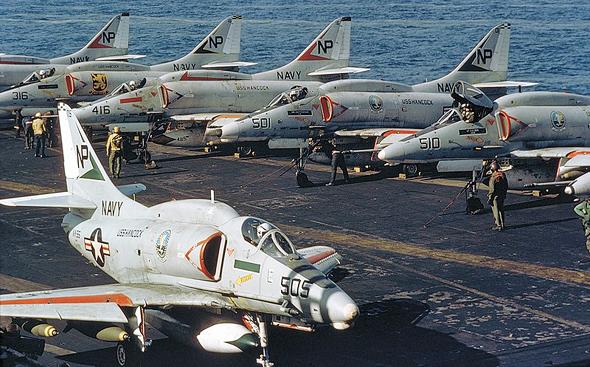 מטוסי סקייהוק של צי ארצות הברית