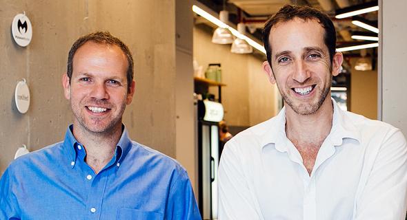 Logz.io co-founders Tomer Levy and Assaf Yigal. Photo: Fabiana Kocubey