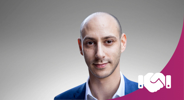 Samuel Cronin. Photo: David Jacobson for the UK Israel Tech Hub