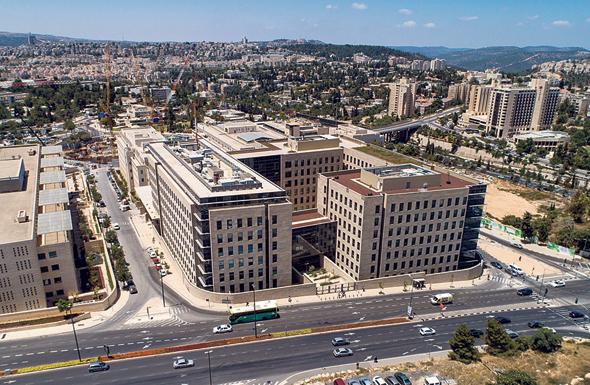 בניין ג'נרי 2, בירושלים, צילום: דגן פתרונות ויז