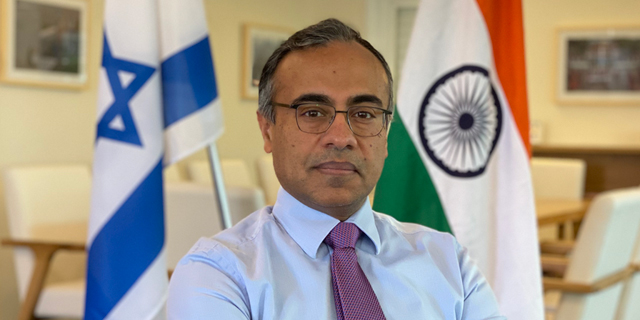 Indian Ambassador says strategic partnership with Israel is crucial to coping with fundamental disruptions