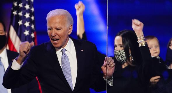 ג'ו ביידן מנצח במירוץ לבית הלבן