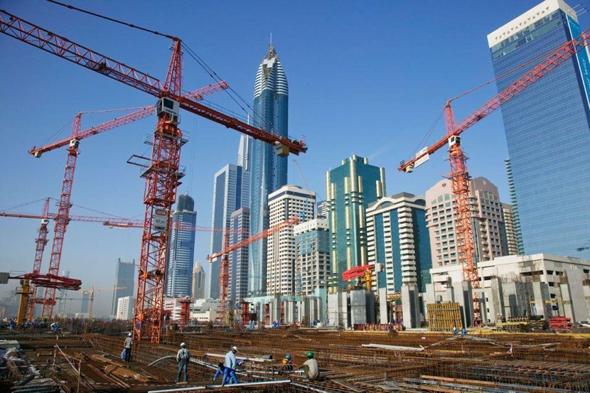 בנייה בדובאי, צילום: arabianbusiness