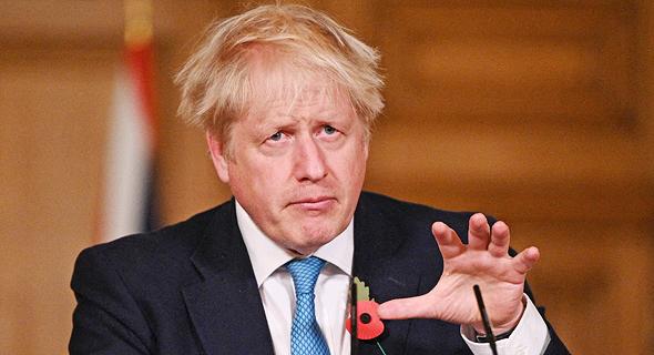ראש ממשלת בריטניה בוריס ג