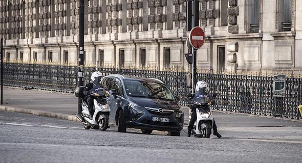 סגר בפריז