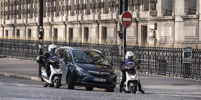 סגר בפריז, צילום: אם סי טי