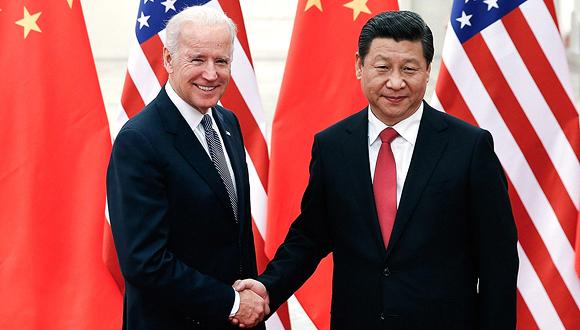 ביידן וג'ינפינג, צילום: אם סי טי