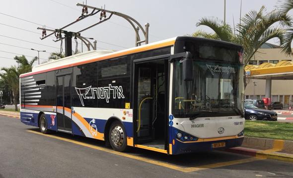 אוטובוס חשמלי תוצרת הייגר