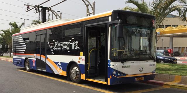 דן פירסמה מכרז לרכישת מאות אוטובוסים חשמליים