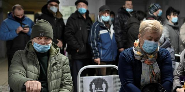 הקורונה ברוסיה: יותר מ-2 מיליון אובחנו כחולים, 463 מתו ביממה האחרונה