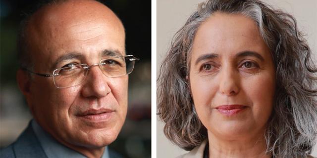 מימין: ענת גואטה ומשה ברקת, צילום: עמית שעל, אוראל כהן