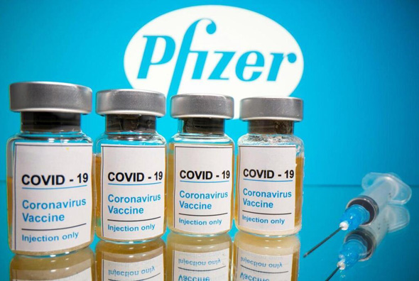 The Pfizer/BioNTech vaccine has arrived in Israel. Photo: Reuters