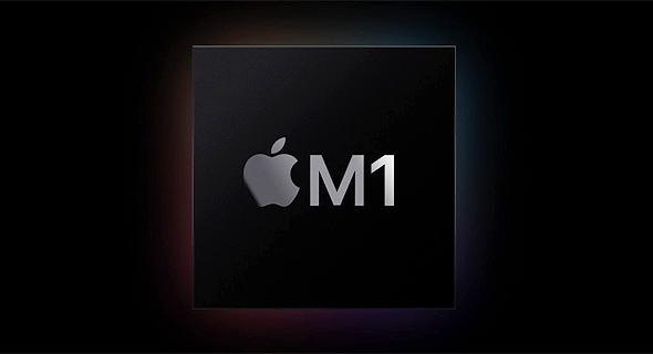 ה ציפ החדש של אפל למחשבי מק M1, צילום מסך: Apple