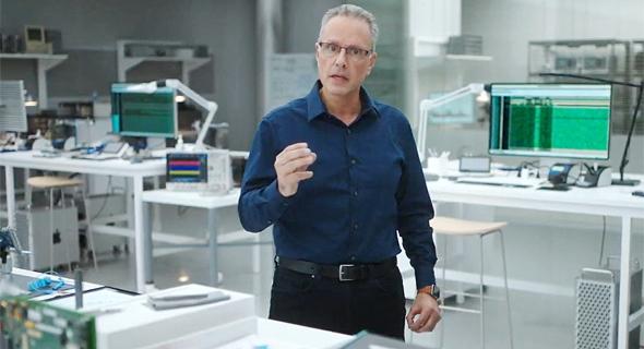 ג'וני סרוג'י נציג ישראלי באירוע אפל, צילום מסך: Apple