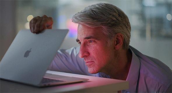 קרג פרדיריקי ומחשב המק של אפל , צילום מסך: Apple