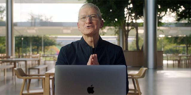 טים קוק, צילום מסך: Apple