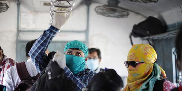 רכבת בהודו, צילום: אי פי איי