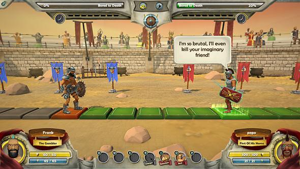 Screenshot of Warriors: Rise to Glory