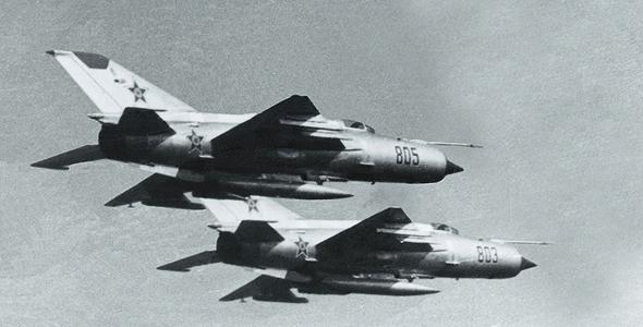מטוסי מיג 21 באוויר; מכפיל הכוח של סוריה