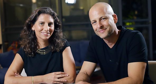 Welltech1 co-founders Amir Alroy Galit Horovitz WellTech1. Photo: Pola studio