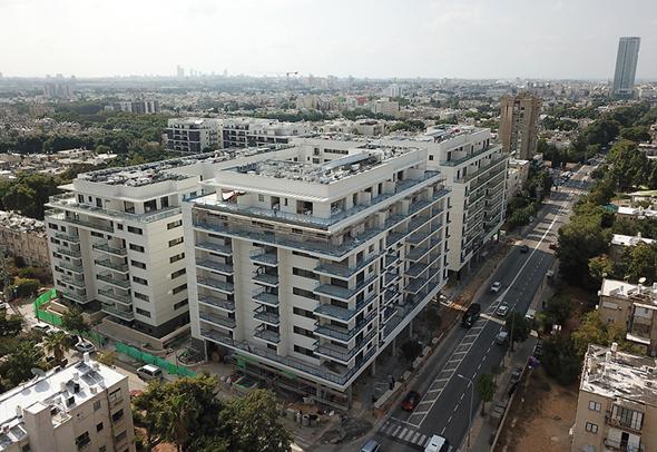 """הפרויקט בלה גוארדיה 68-64. """"התחדשות עירונית כמו שכתוב בספר"""", צילום: יניר אלמליח"""