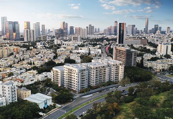 """הפרויקט בטייסים 10-6. """"בזכות התחדשות עירונית יהפוך האזור לאחד הנחשקים בתל אביב"""", צילום: יניר אלמליח"""