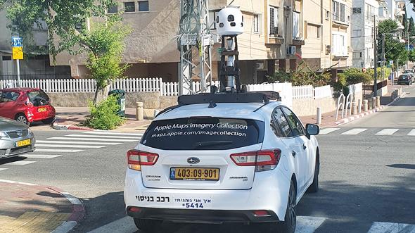 רכב מיפוי הרחוב של גוגל, צילום: תומר הדר