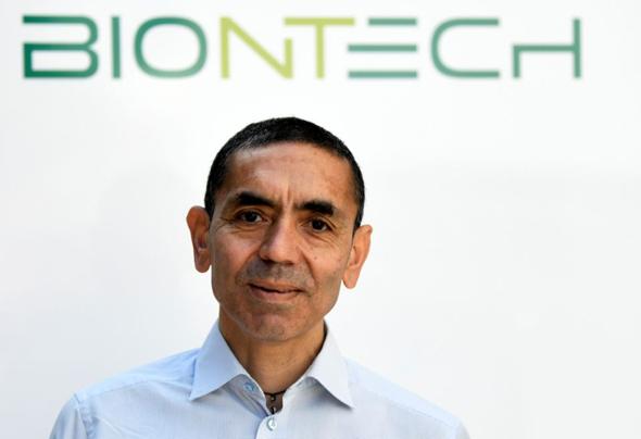 """מנכ""""ל ביונטק אוגור סאהין, צילום: רויטרס"""