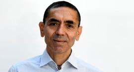 """מנכ""""ל חברת תרופות ביונטק אוגור סאהין Ugur Sahin BioNTech, צילום: רויטרס"""