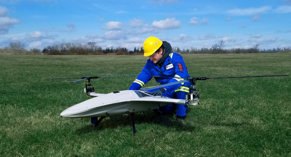Skyx's unmanned aerial vehicles. Photo: SkyX