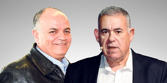 """מימין: סמנכ""""ל תע""""א בועז לוי ומנכ""""ל החברה הבת אלתא יואב תורג"""