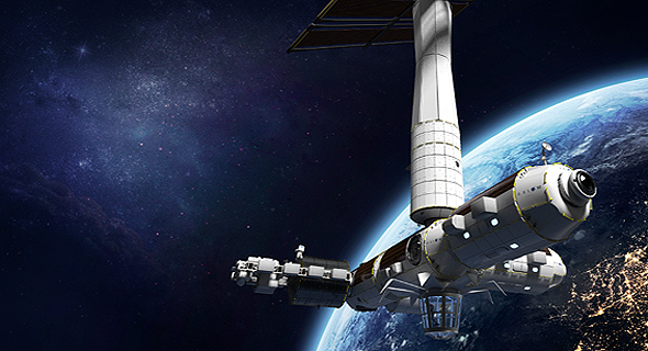 Axiom Space's proposed commercialized space station (illustrative). Photo: Axiom Space