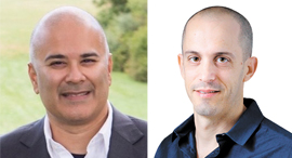 Mickey Boodaei and Rakesh Loonkar speak at Mind The Tech