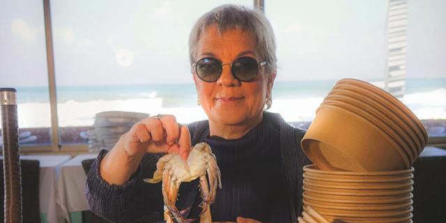 """המסעדנית עפרה גנור: """"את הכחול של הים אני לא יכולה לשלוח"""""""