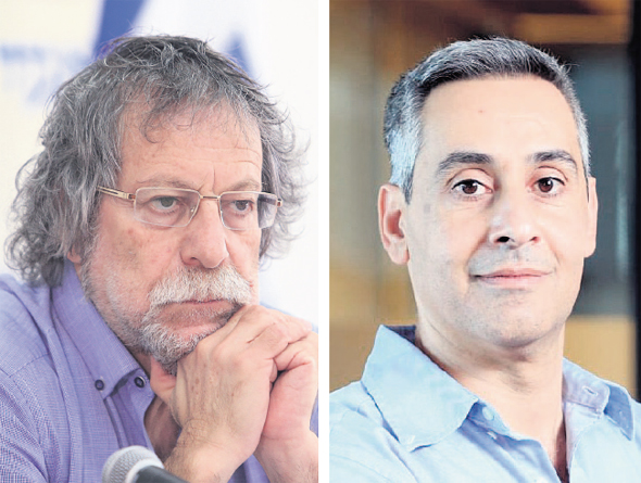 מימין: דודו זבידה ושמואל סלבין