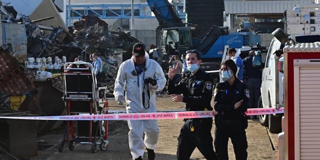 שניים נהרגו בפיצוץ במפעל באשדוד