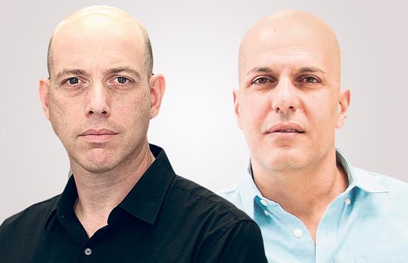 """מנכ""""ל המילטון אפי אהרוני (מימין) ומנכ""""ל אלקטרה צריכה צביקה שווימר. אמצעי הייצור הצטמצמו"""