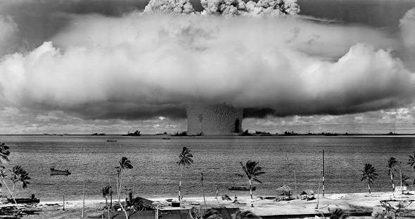 הפיצוץ האטומי מול האי הפסטורלי-לשעבר