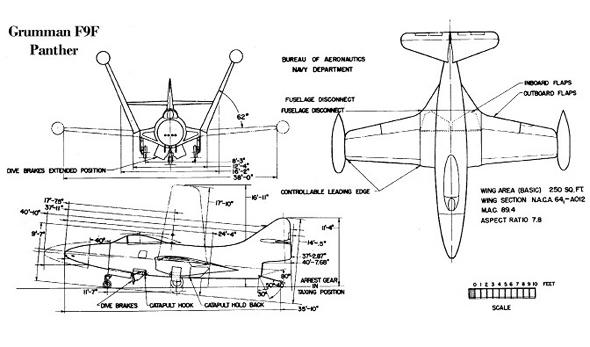 תרשים מטוס הפנתר