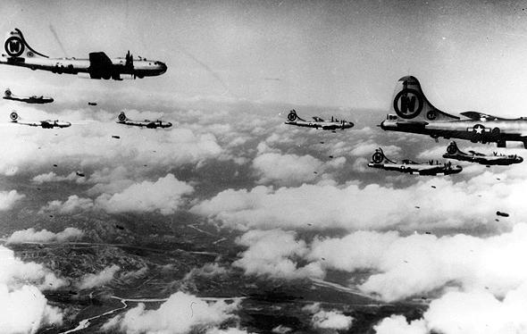 הפעם לא יכריעו. מפציצי B29 אמריקאיים בקוריאה