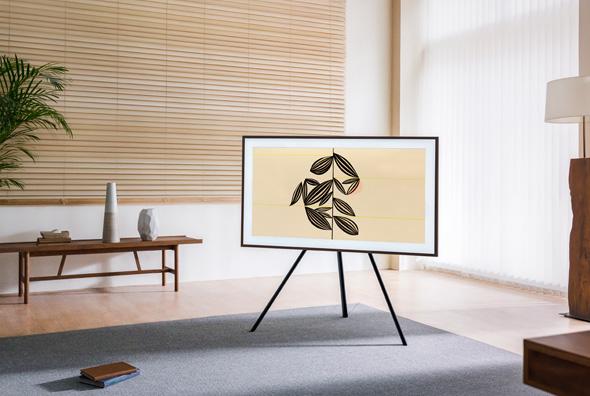 מסך סמסונג מעוצב, צילום: סמסונג