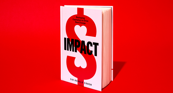 The cover of Impact by Sir Ronald Cohen