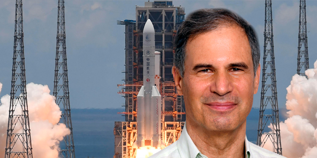 Eytan Stibbe will blast off toward a new future of spaceflight
