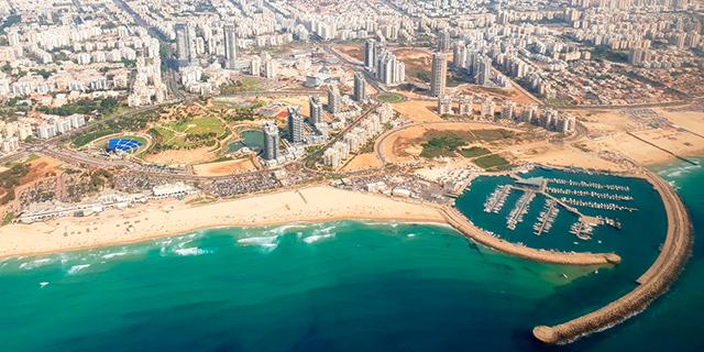 אשדוד צילום אוויר זירת הנדלן , צילום: איתמר יחזקאל