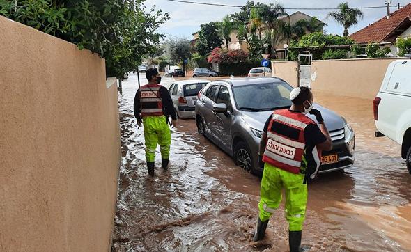 מכבי אש ביהוד, צילום: דוברות כבאות בני ברק