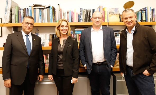 Erel Margalit, Ohad Goldberg, Michal Badash, Moshe Lion