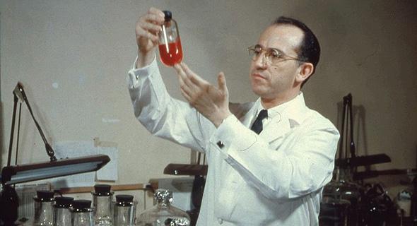יונה סאלק, מפתח החיסון לפוליו, צילום: גטי אימג